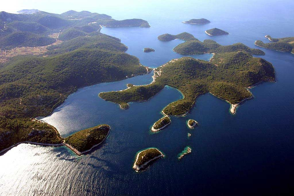 The Lastovo archipelago