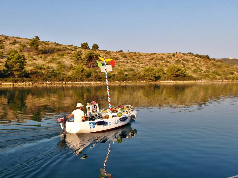 Provisioning your boat for sailing charter in Croatia