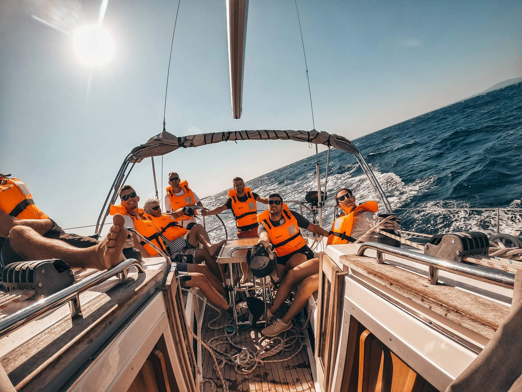 Set sail with your skippered yacht charter in Croatia